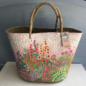 Handbags - Handpainted Beach Tote